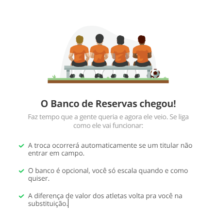 banco de reservas no cartola